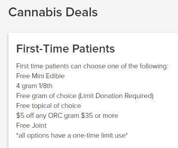 TLC First Time Patient Deals