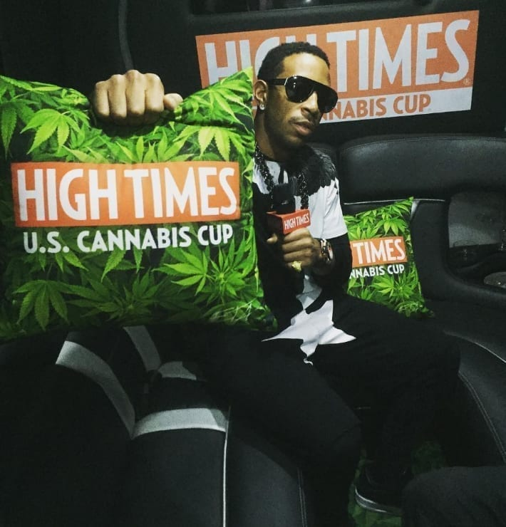 Ludacris performed at the High Times Cannabis Cup