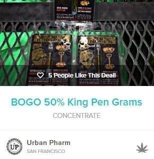 Bogo Vape Pens At Urban Pharm