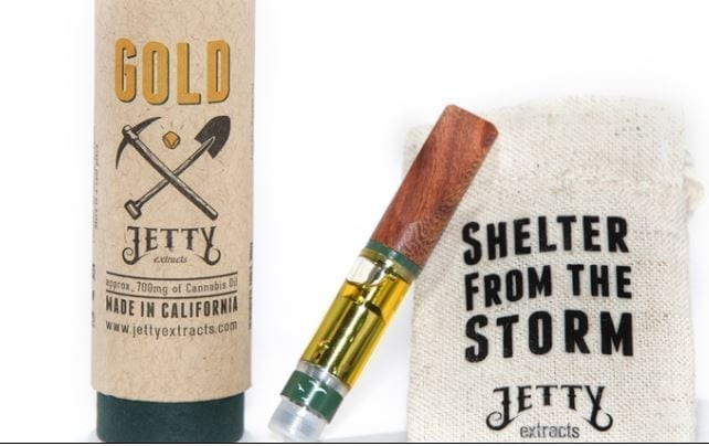 A Jetty Gold Extract Cartridge at Empire SD.