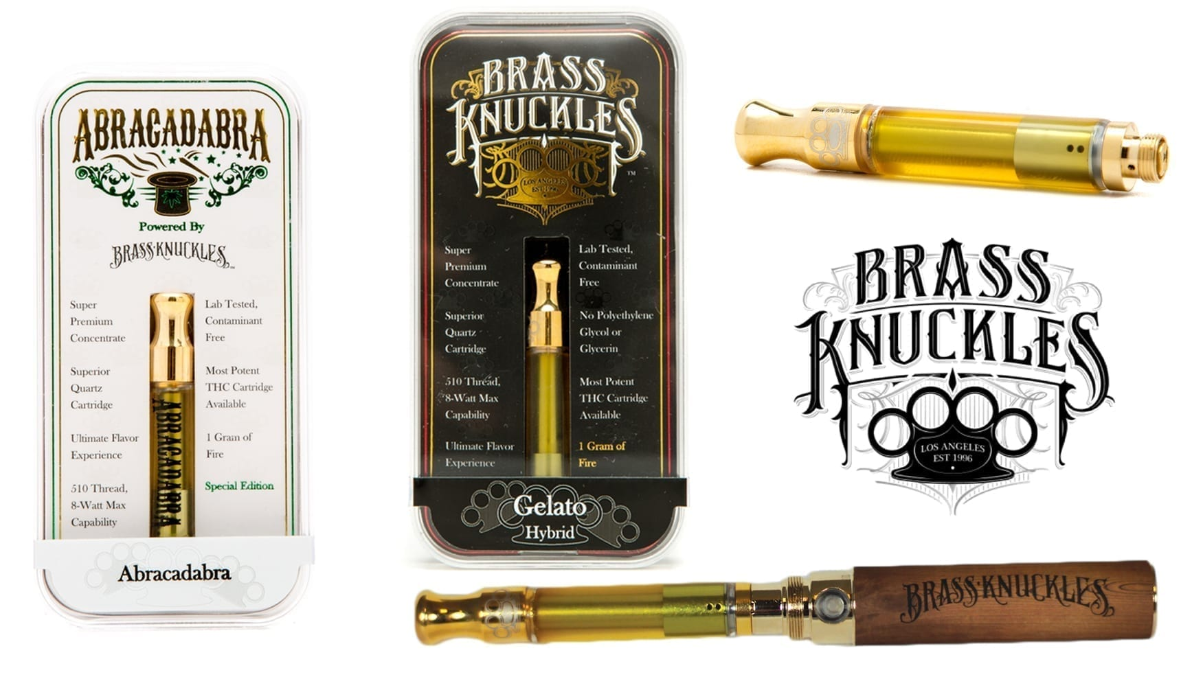 Brass Knuckles Vape Pen Review - Excellent Taste - DabConnection