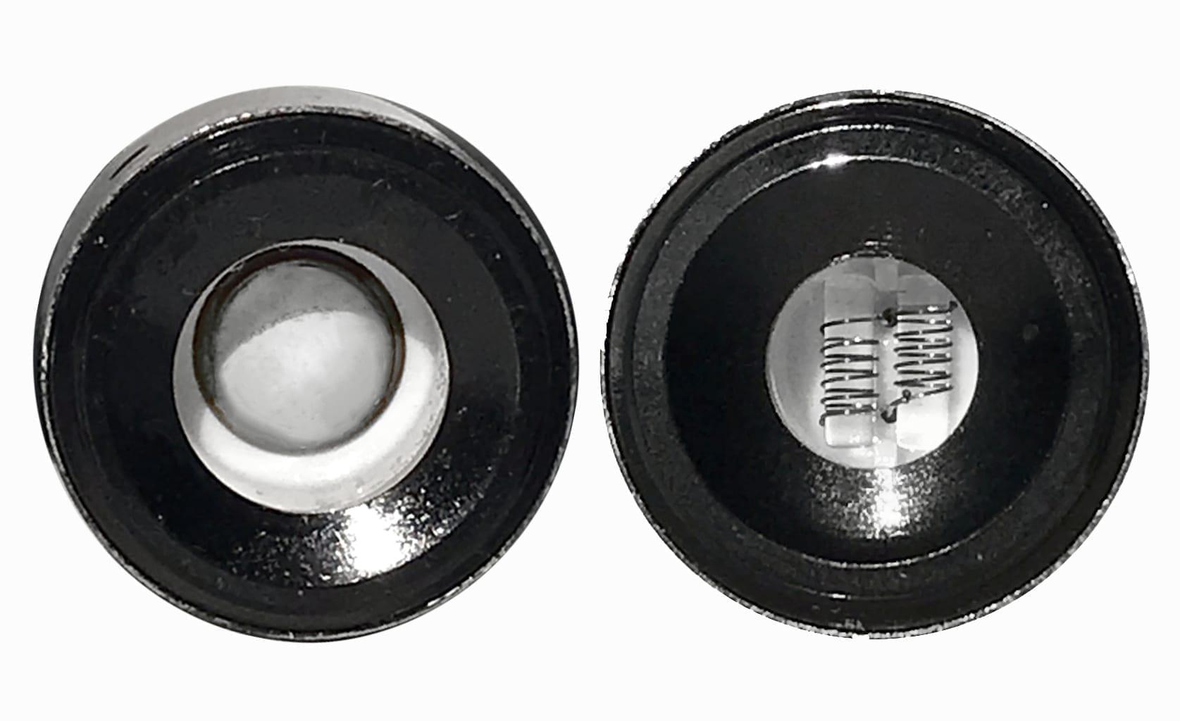 KandyPens PRISM+ Ceramic Cup Quartz Double-Coil atomizers
