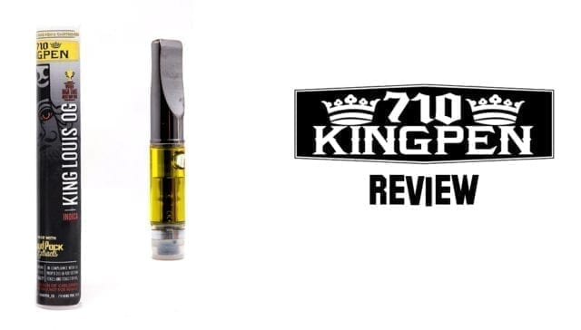 710 King Pen Review | Strong Vape Pen Cartridge With Great