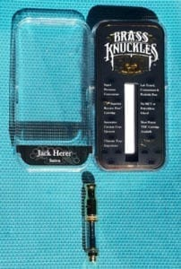 Brass Knuckles Jack Herer Cartridge Review - Potent and True To