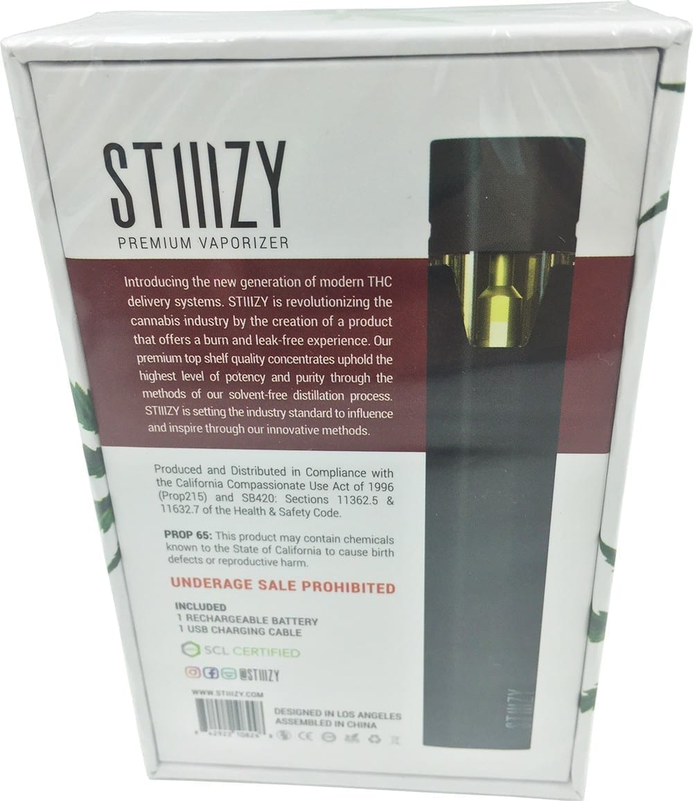 Stiiizy Pen Review | Strongest Prefilled Vape Cartridge of 2018