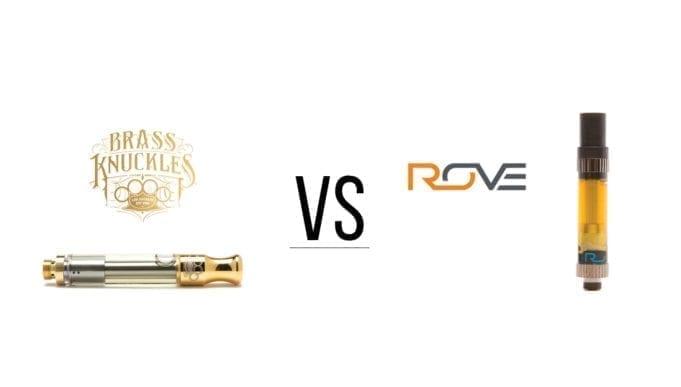 Brass Knuckles vs Rove - Vape Pen Cartridge Showdown