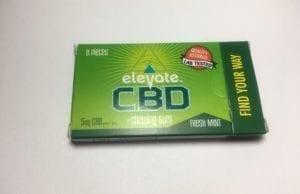 elevate CBD gum review