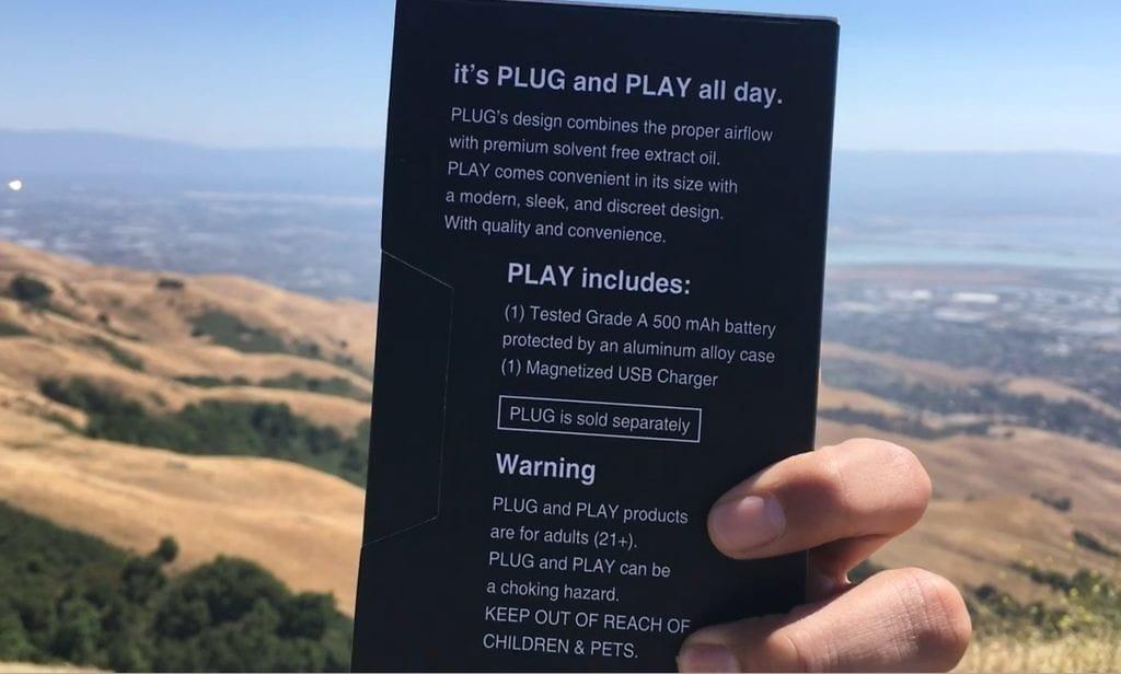 plug play vape pen box