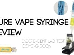pure vape thc oil review