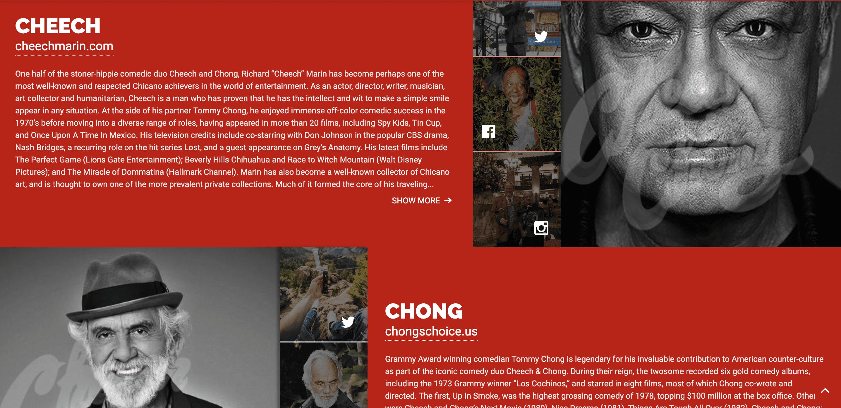 Cheech And Chong Canada Tour
