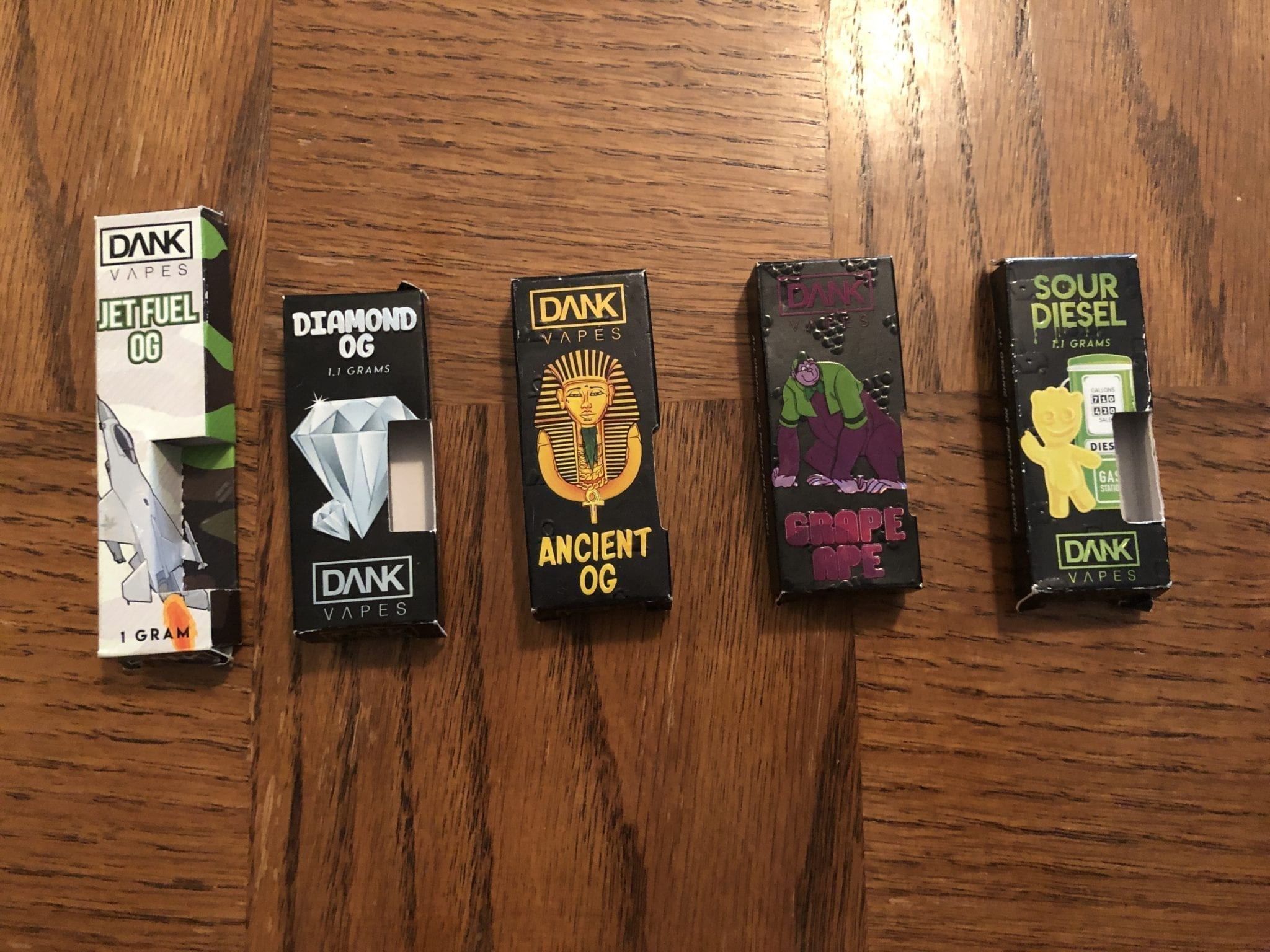 Fake Dank Vapes Carts: New Packaging, Updated April 2019