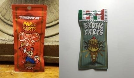 exotic carts vs mario carts
