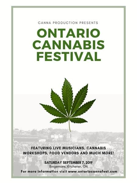 cannabis events canada 2019