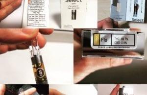 select elite cannabis oil vape cartridge