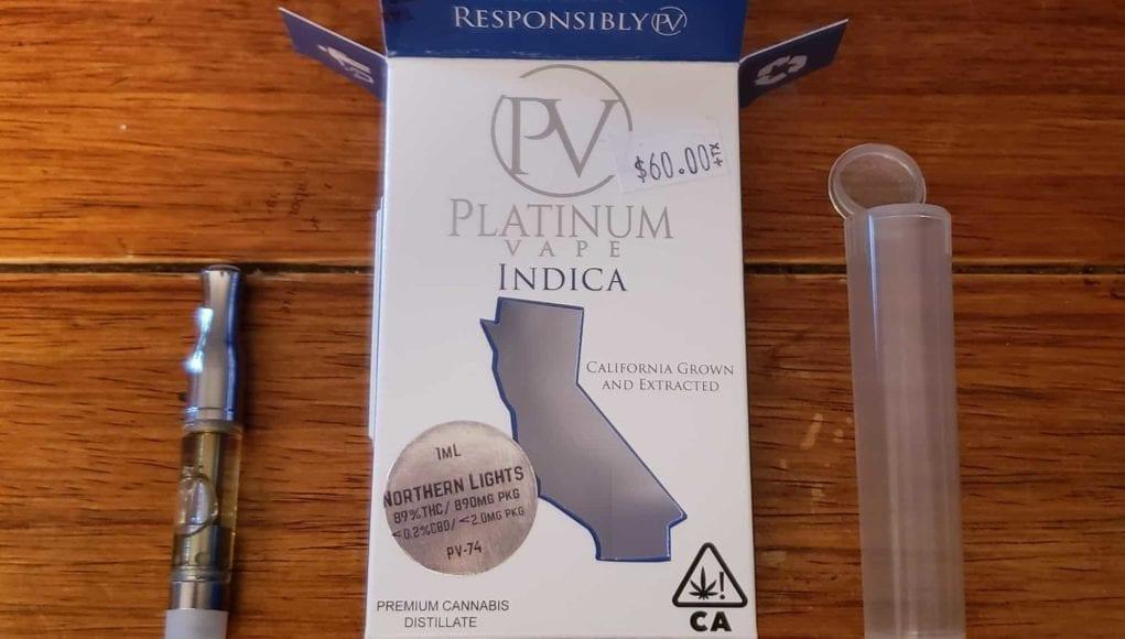Platinum Vape Cartridge Review: True to Strain Taste, Quality THC Oil