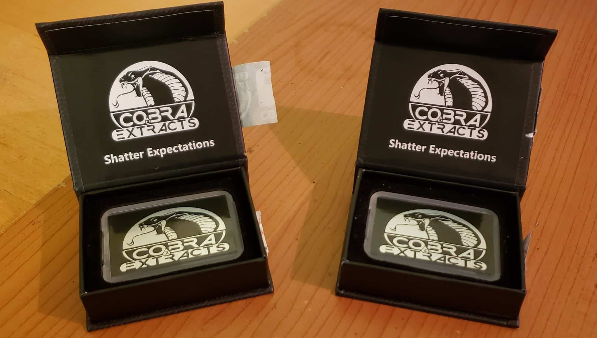 Cobra Extracts Shatter In Packaging