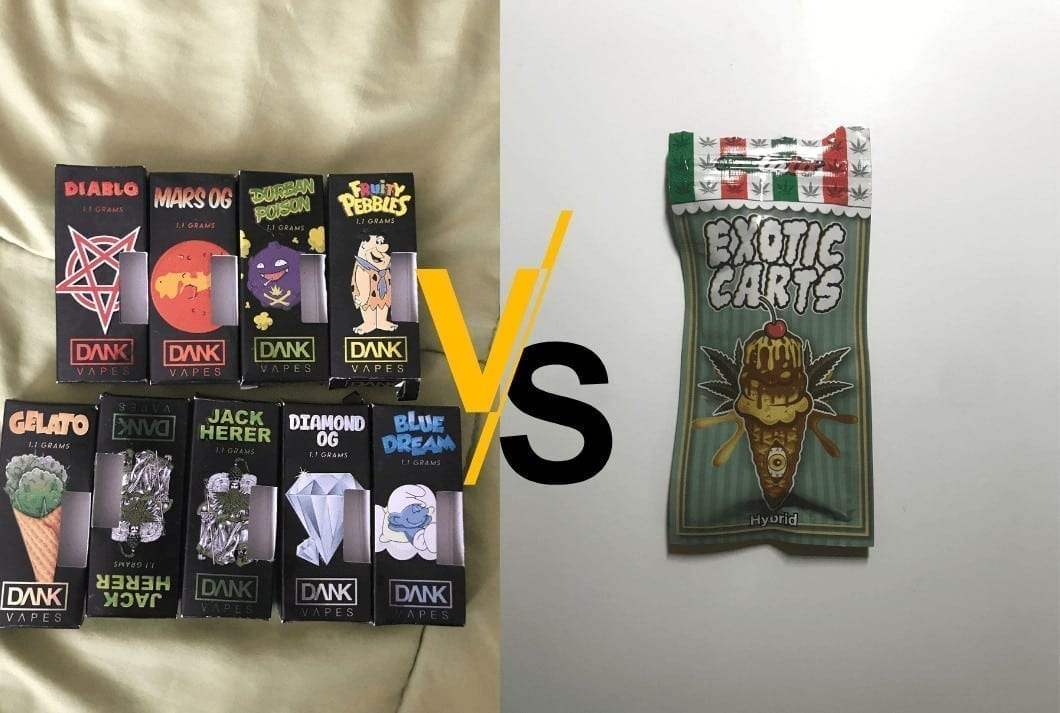 Dank Vapes vs Exotic Carts: Which One Is Better and Why