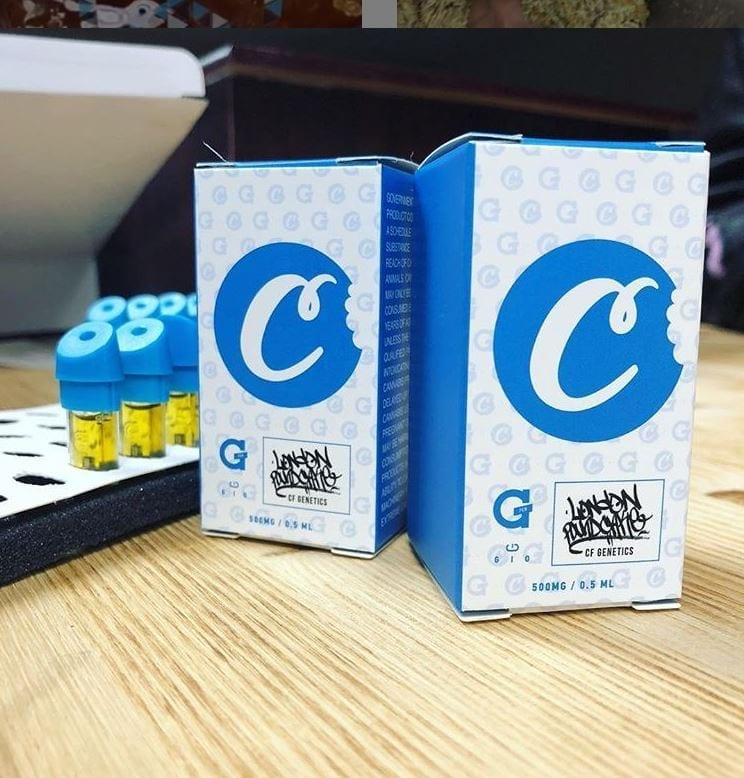Cookies Gio Pen Cartridge Packaging
