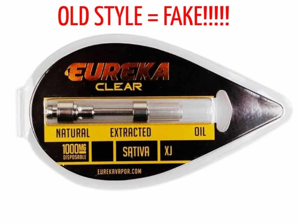 Fake Eureka Vapor Cartridges: Easy To Identify If You See Our Guide