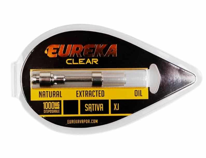 fake eureka vapor packaging