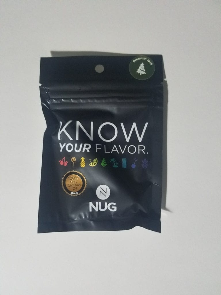 NUG packaging front