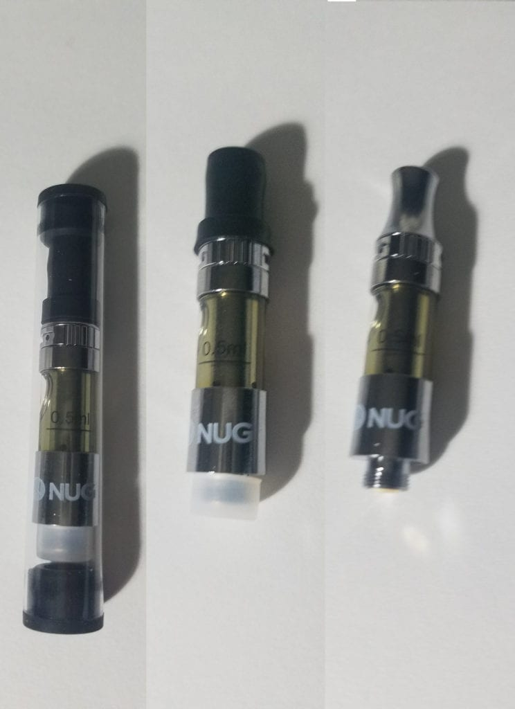 NUG cart internal packaging