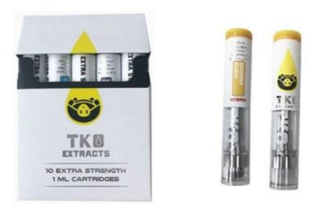 Fake TKO Carts: Very Easy To Spot - DabConnection