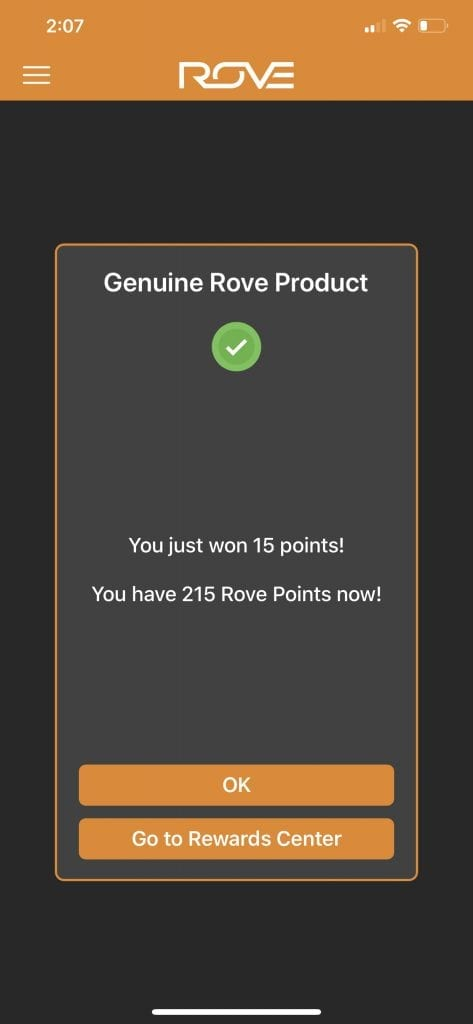 Rove Rewards - genuine