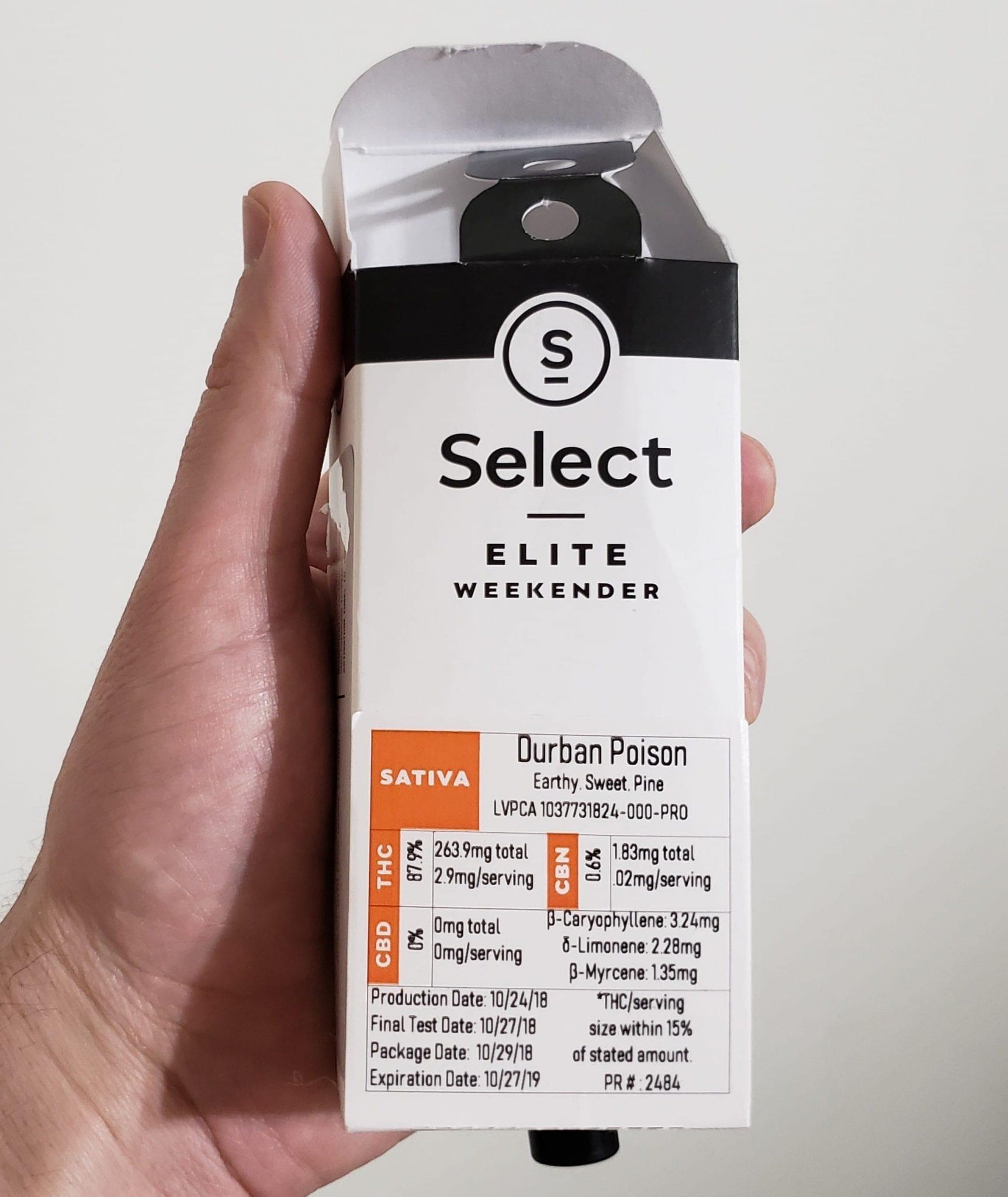 select elite weekender review