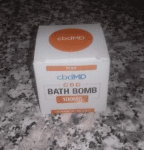 cbdMD's CBD Bath Bomb