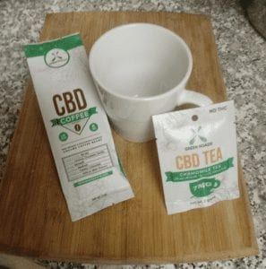 CBD Tea and Coffee