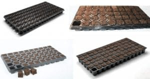 growing trays for plant cultivation