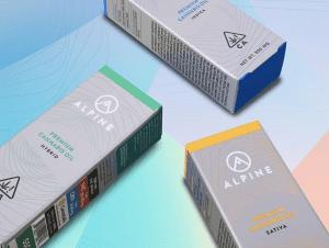 Alpine Vapor Carts Original Packaging