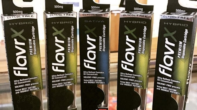 old flavrx packaging