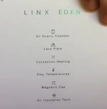 features of the Lynx Eden