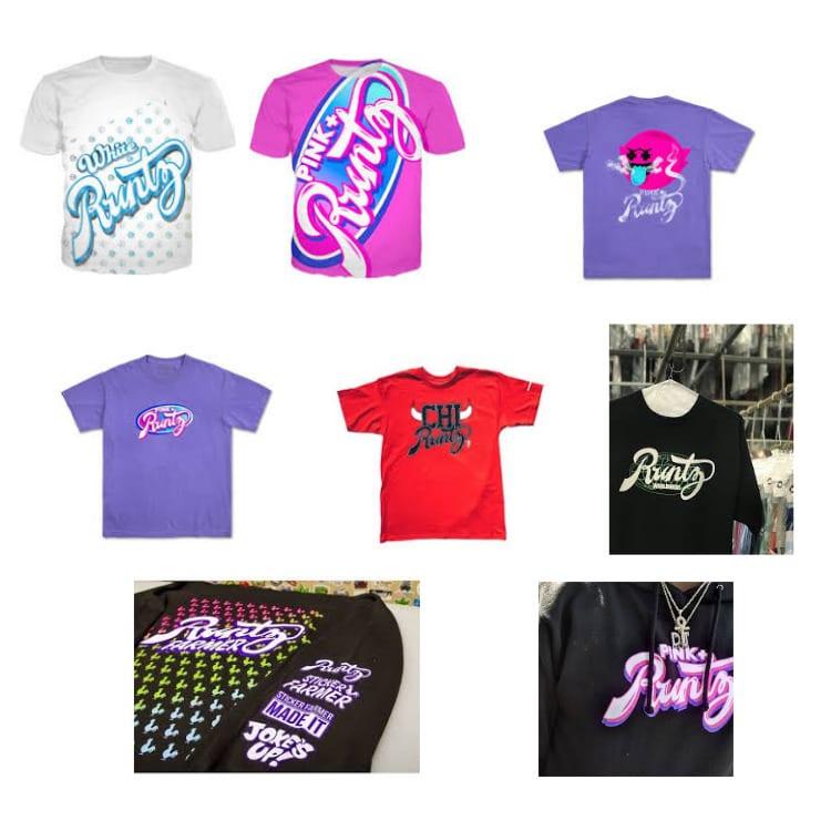 Runtz brand T shirts