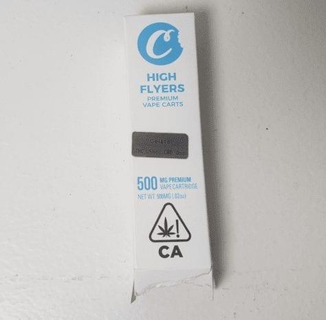 High Flyers Cookies packaging