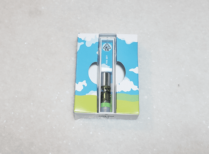Caliva cartridge packaging