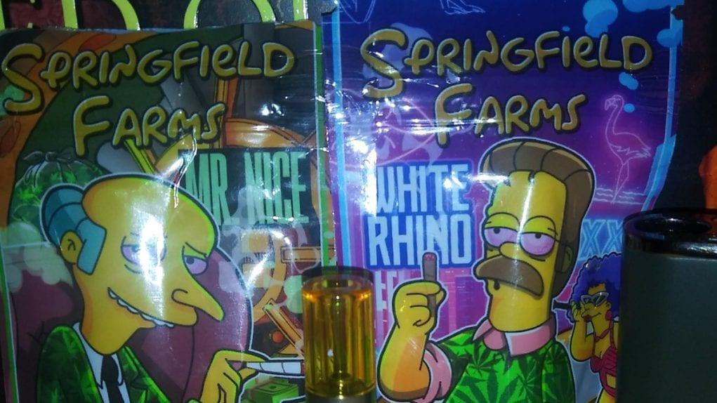 Springfield Farms cartridge packaging