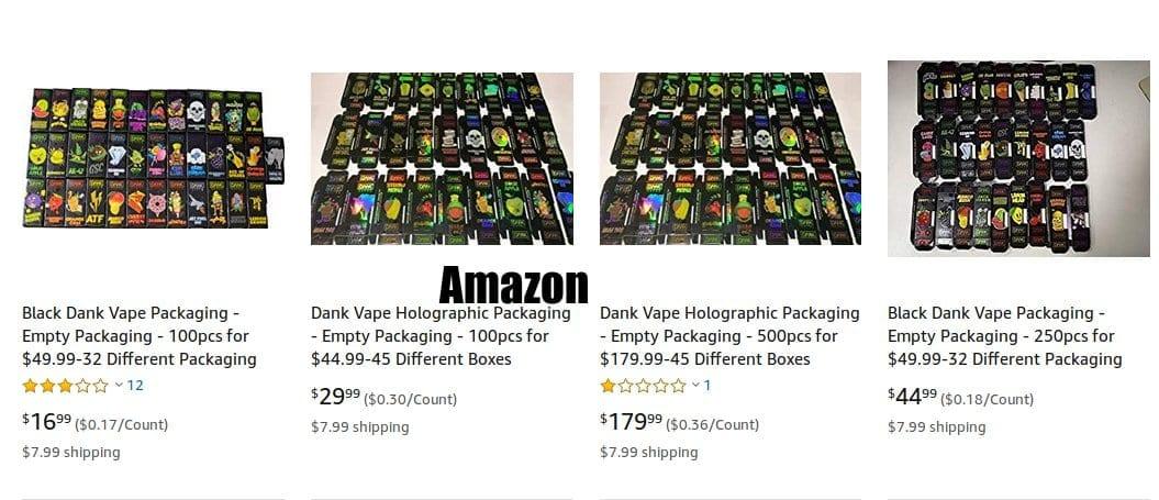 Dank packaging at Amazon