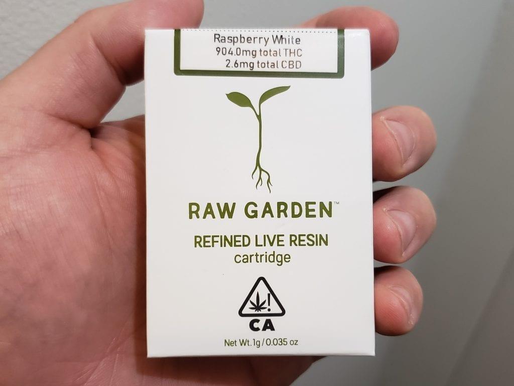 raw garden packaging