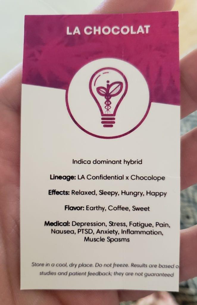 la chocolat strain information