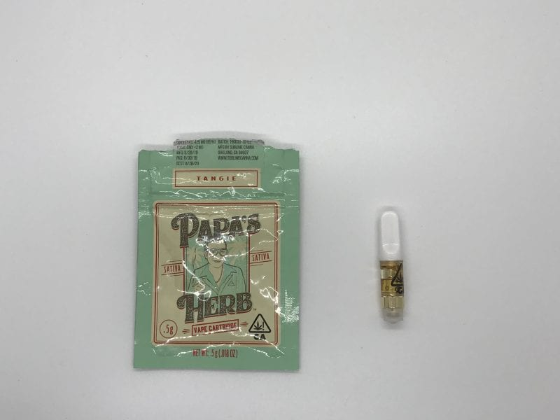Papa's Herb cartridge
