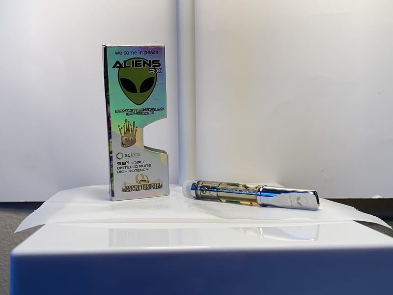 AliensRx have a shiny packaging.
