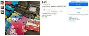 Runtz bags on eBay